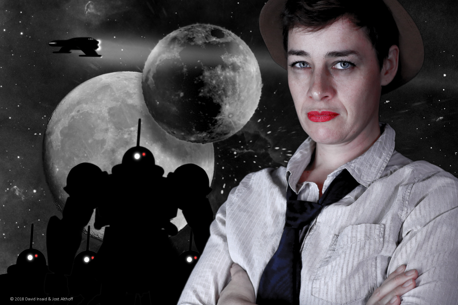 Mord auf dem Holodeck - Nina Thaler als Hardboiled Detective